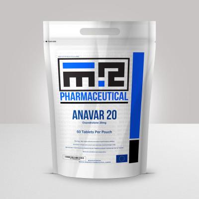 MR-PHARMA Anavar 20mg/tab