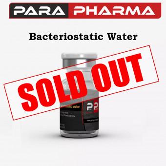 PARA PHARMA BACTERIOSTATIC WATER 10ML