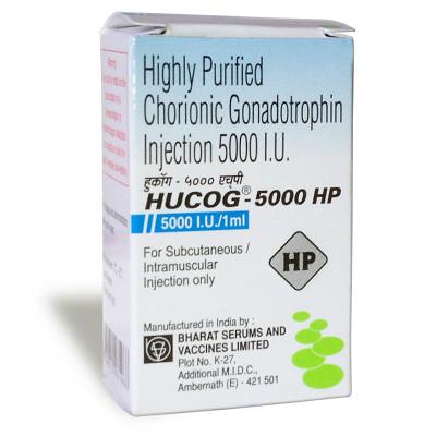 HCG HUCOG 5000IU - CHORIONIC GONADOTROPHIN